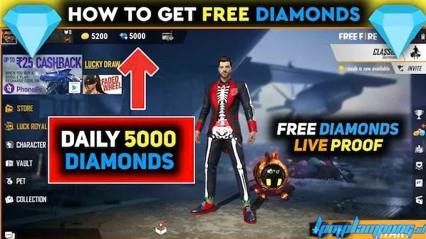 Free Fire Generator Diamonds And Coins Hack